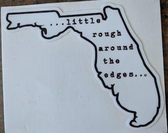 Florida Rough Sticker
