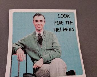 Helpers Sticker