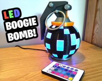 Fortnite Boogie Bomb Desk Lamp! Fortnite Gift, Gamer Gift, Battle Royale,  Gift for Boyfriend, Gamer Birthday, Fortnite Birthday,Son Birthday