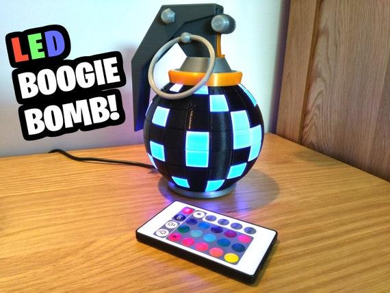Fortnite Boogie Bomb Desk Lamp Fortnite Gift Gamer Gift Etsy