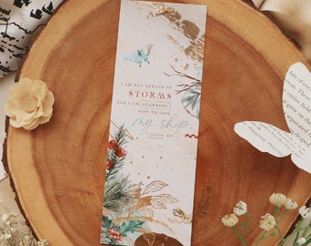 How to sail - Little Women bookmark
