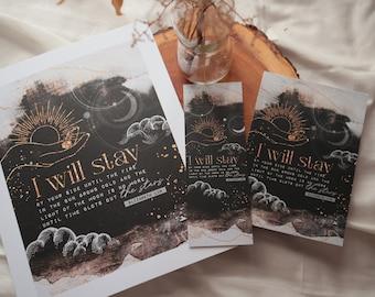 I will stay - Elizabeth Lim