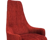 Adrian Pearsall Strictly Spanish Swivel Chair