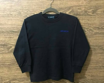 Rare Keapa sweatshirt/Small Embroidery Logo spell out/Nice Design/Size on Tag 140.