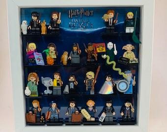 Display Frame Case For Lego Harry Potter Series 2 Minifigures 71028 27CM No Figures