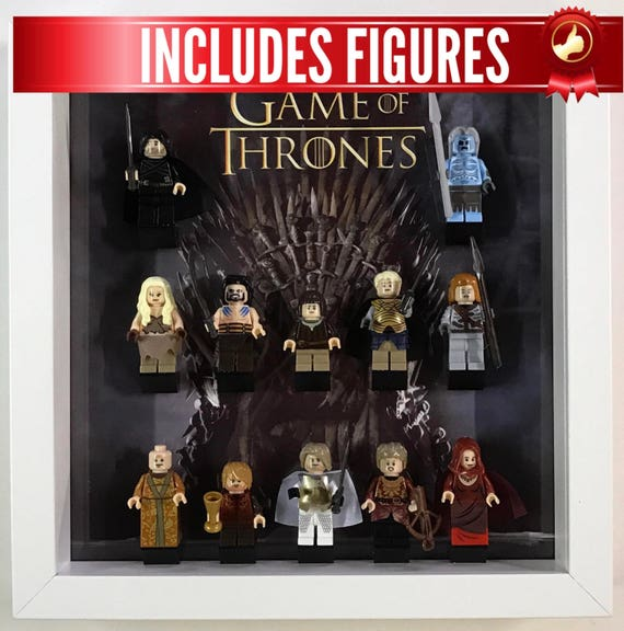 Lego Display Frame Game Of Thrones custom minifigures minifigs