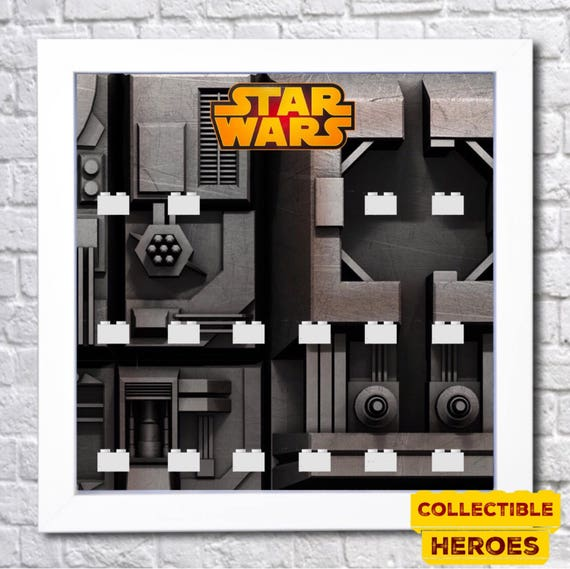 Lego Star Wars New Jedi Order Minifigures Display Case Picture Frame Minifigs