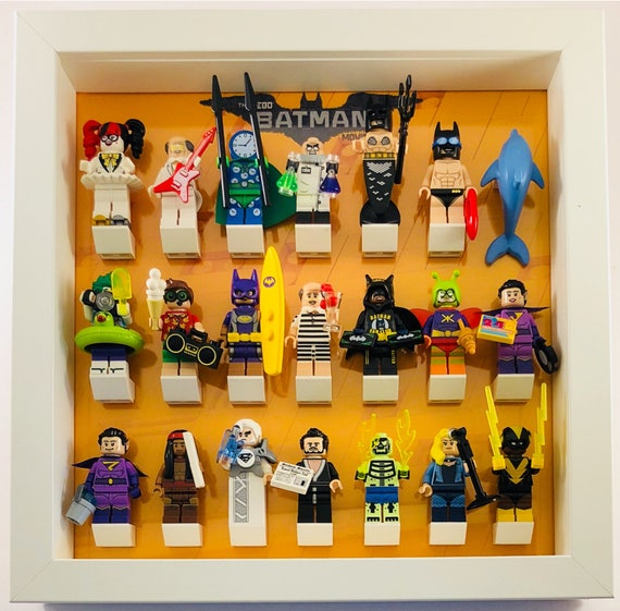 The Simpsons Series 1 and 2 2 Frames LEGO Minifigure Display Case // Frame