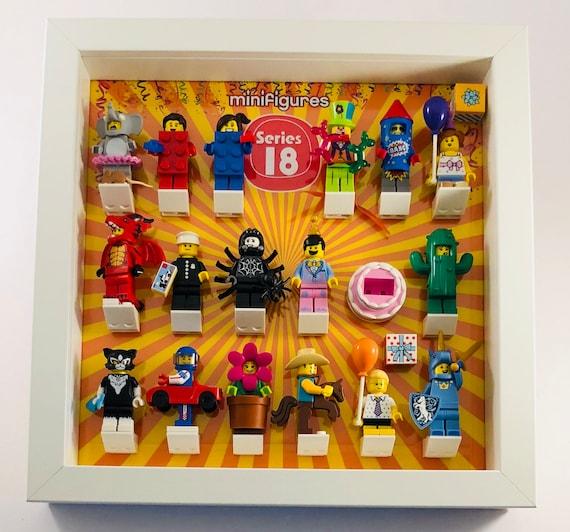 Lego Minifigure Display Case Frame Star Wars Millennium Falcon minifigs