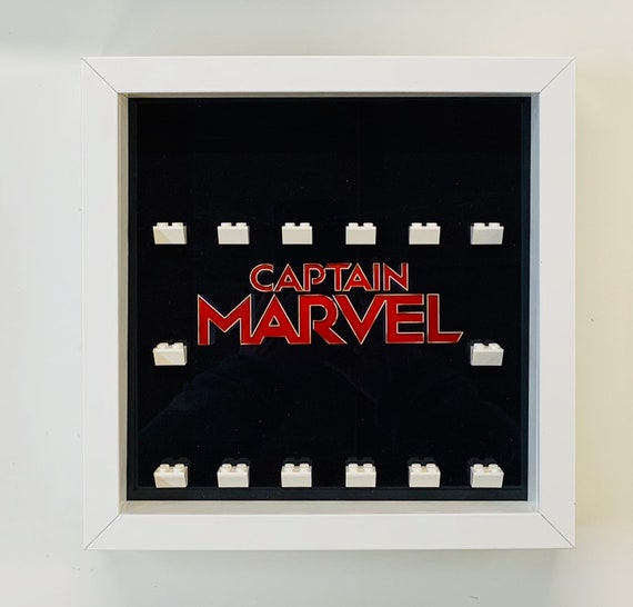 Minifigure Display Case Frame Lego Marvel AFOL minifigs figures