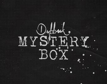 dybbuk box - mystery box / soap bath gift set / horror & macabre /