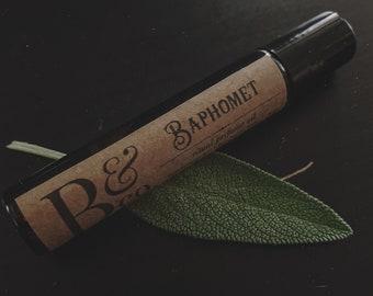baphomet - ritual perfume oil 10ml / bath oil / horror & macabre /