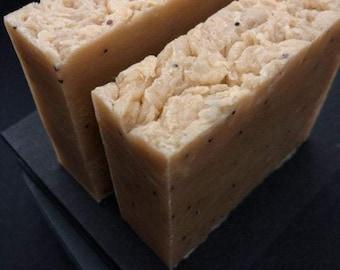 ginger & brigitte bar - gingersnaps blend / artisanal vegan soap