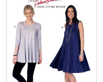 By McCall's M7407 shirt and dress sewing pattern