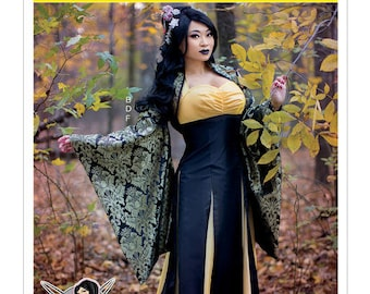 M7765 Mc Call's Yaya Han costume and dress sewing pattern