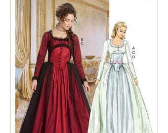 Costume Cosplay Renaissance M7642 Mc Call's sewing pattern