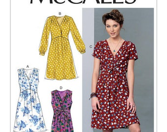 Dress by McCall's M7381 sewing pattern