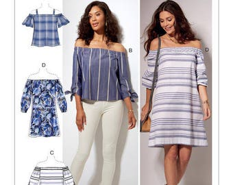 Top by McCall's M7543 sewing pattern
