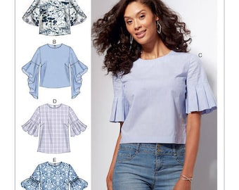 Top by McCall's M7542 sewing pattern