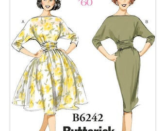 Vintage by B6242 retro Butterick sewing pattern