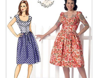 Vintage by B6322 retro Butterick sewing pattern