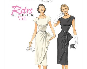 Vintage by B5880 retro Butterick sewing pattern