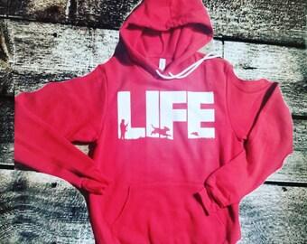 6162e089 Hunting / sweater / Hoodie / Beagle hoodie / Beagle life hoodie / Hooded  Sweatshirt / Hunting Gear /Rabbit Hunting / Dog Lover