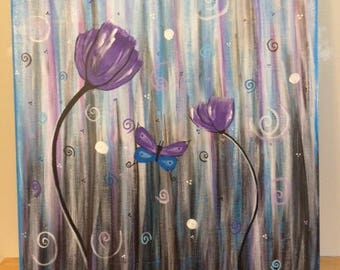 Canvas Paintings, Flowers