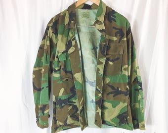 Vintage Army Jacket Camo Jacket ALL SIZES  Small medium Large