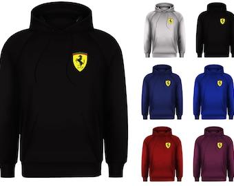 ed172451e74e50 New Mens Italian Ferrari Scuderia Race Day Competition Motorsport Pullover  Hoodie Jumper Top