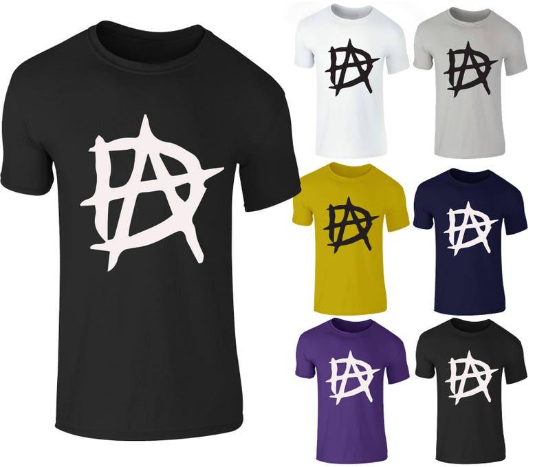 956a717dd9e07a Dean Ambrose Logo Wrestling RAW WWE Smackdown T-Shirt Top