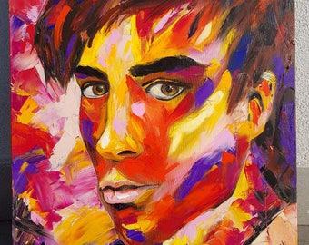 Enrique- Oil on canvas