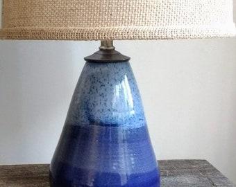 Ceramic Table Lamp Etsy