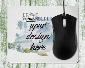 customized mouse pad etsy