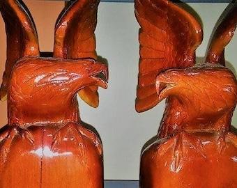 Eagles 100% hand made wood