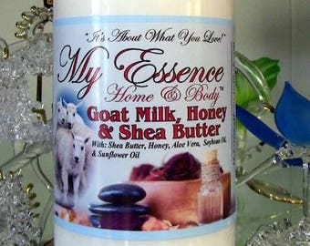 Goat Milk w/Honey & Shea Butter Hand and Body Lotion