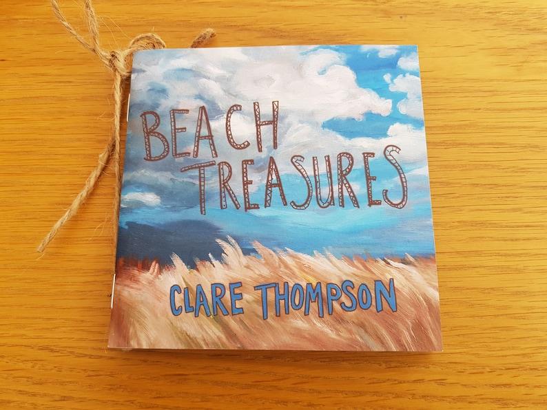 MINI BEACH TREASURES book observational paintings beach art image 0