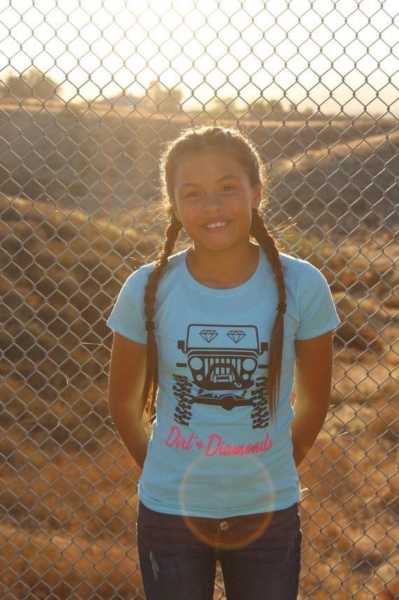 Girl's Jeep Tee