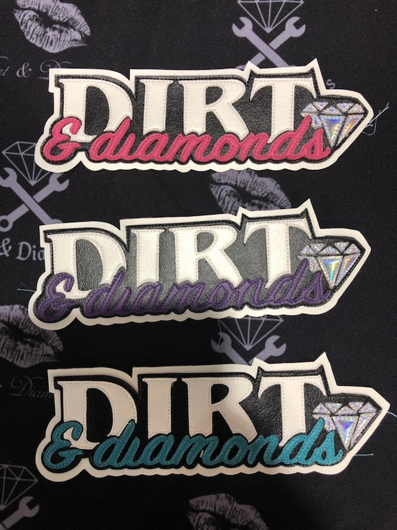 Dirt & Diamonds Patches
