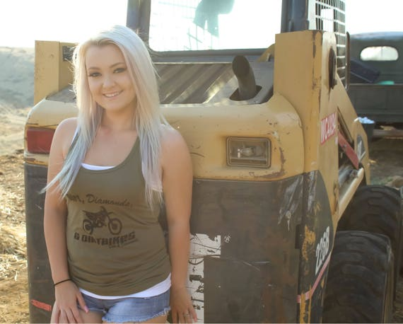 Diamonds and Dirtbikes Tank