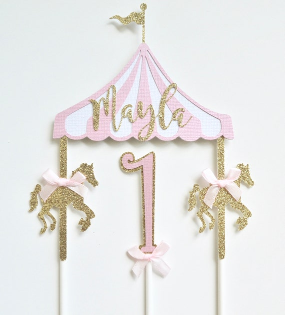 Carousel Horses For Cake Decorations  from i.etsystatic.com
