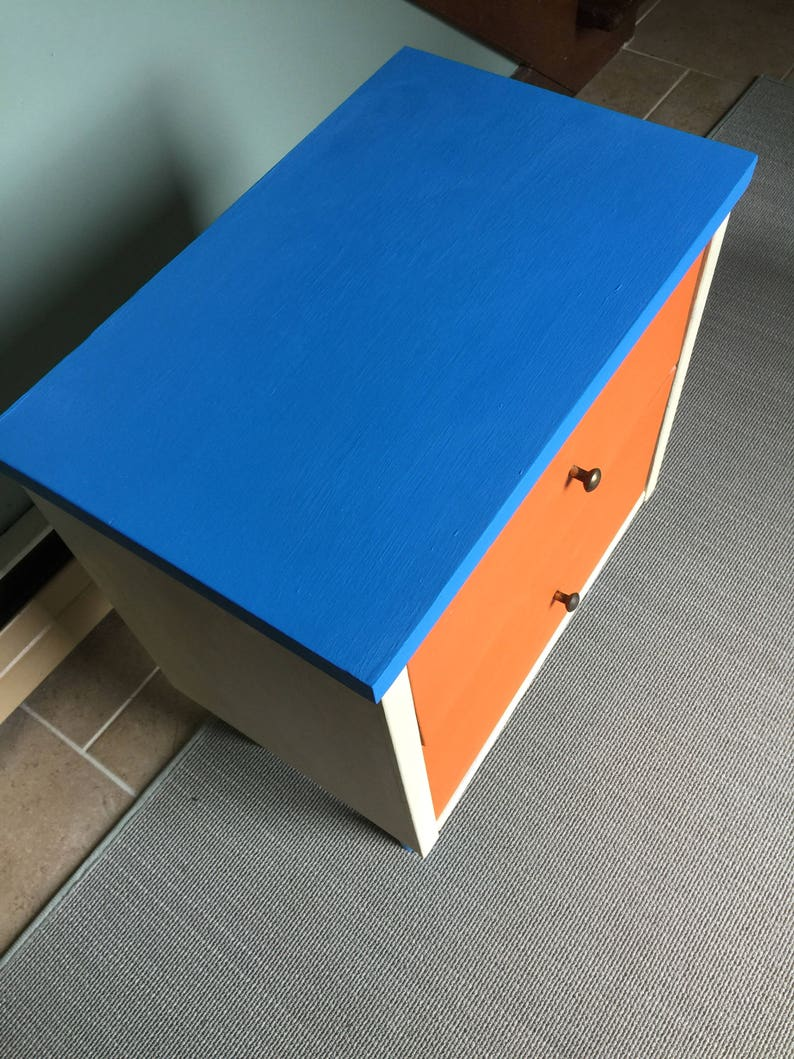 Funky Modern End Table