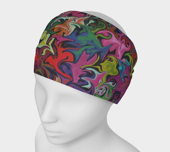 Multicolored headband Colorful headband Multicolored  81ebee5ba7c