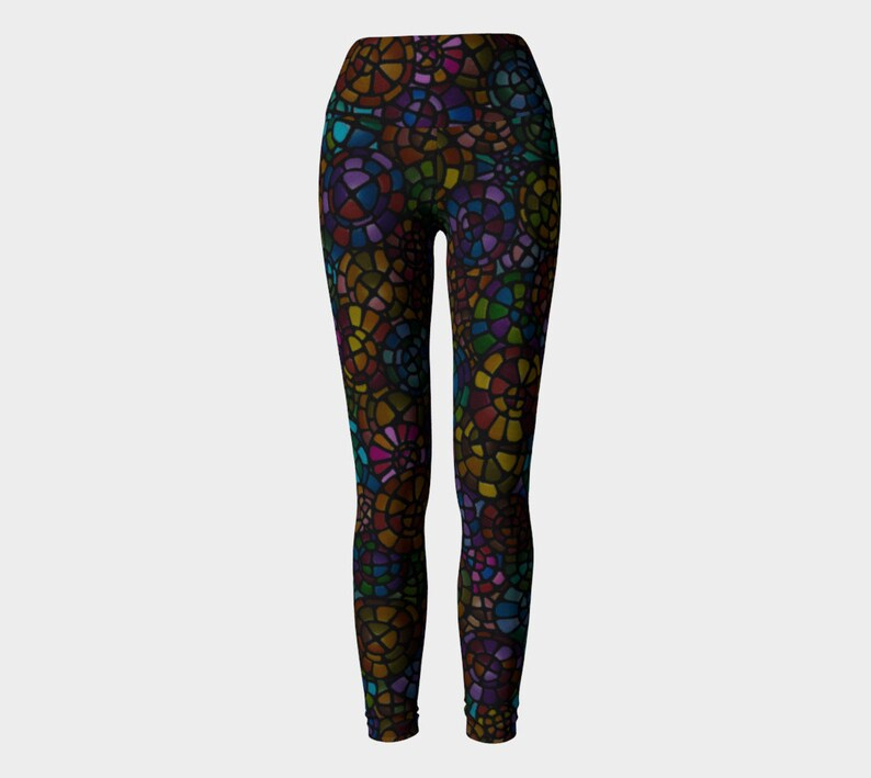 Sports Leggings Original Yoga Leggings Funky Colorful Leggings Sports Pants Multicolored Leggings