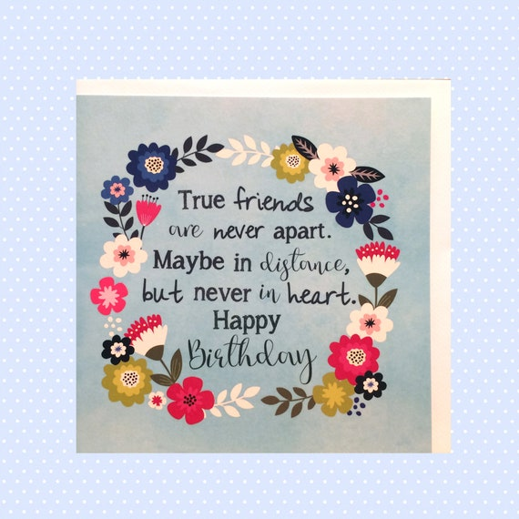 Awe Inspiring Friends Birthday Card Happy Birthday Card Freindship Etsy Funny Birthday Cards Online Inifodamsfinfo