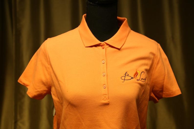 Be Love Ladies Short Sleeve Polo Shirt