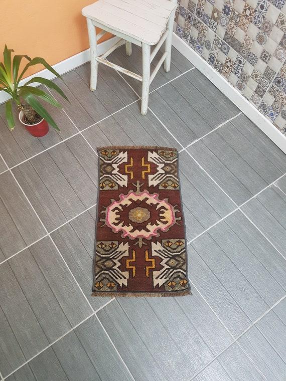 Small Rugs Bathroom Rug Door Mat Rug Turkish Rug Bath Mat