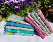 Liberty of London Flower Show Summer quilting fabric pack of 20 x 5 squares