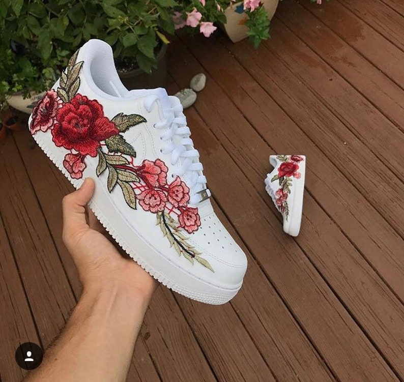 4dcdc99e6914be Mens Air Force 1 Flowerbomb Custom size 12