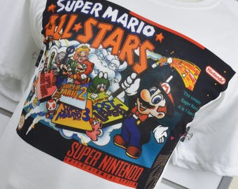 Super Nes Mario all Stars Shirt